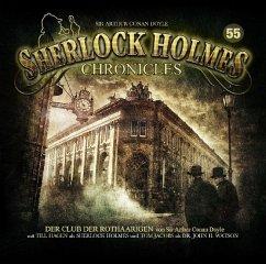 Der Club der Rothaarigen / Sherlock Holmes Chronicles Bd.55 (Audio-CD) - Doyle, Arthur Conan