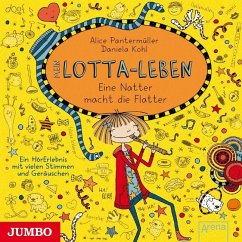 Eine Natter macht die Flatter / Mein Lotta-Leben Bd.12 (1 Audio-CD) - Pantermüller, Alice