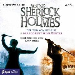 Der Tod kommt leise & Der Tod ruft seine Geister / Young Sherlock Holmes Bd.5+6 (6 Audio-CDs) - Lane, Andrew