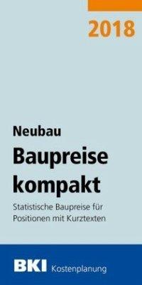 BKI Baupreise kompakt Neubau 2018