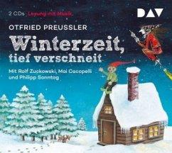 Winterzeit, tief verschneit, 2 Audio-CDs - Preußler, Otfried