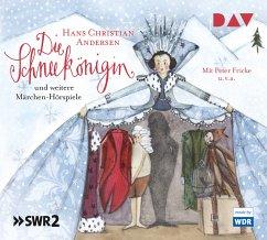 Die Schneekönigin und weitere Märchen-Hörspiele, 3 Audio-CDs - Andersen, Hans Christian