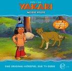 Yakari - Weiße Pfote, 1 Audio-CD