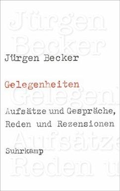 Gelegenheiten - Becker, Jürgen