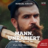 Mann, unrasiert, 1 MP3-CD