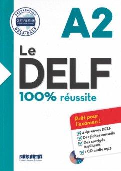 Le DELF A2 - Buch mit MP3-CD - Houssa, Catherine