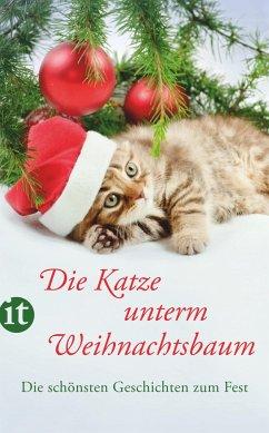 Die Katze unterm Weihnachtsbaum