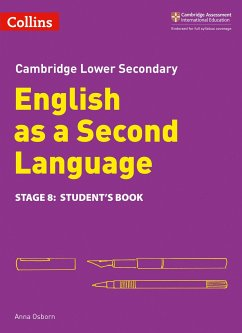 Lower Secondary English as a Second Language Student's Book: Stage 8 - Osborn, Anna