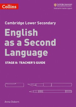 Lower Secondary English as a Second Language Teacher's Guide: Stage 8 - Osborn, Anna