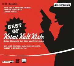 Best of Krimi Kult Kiste, 12 Audio-CDs