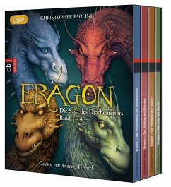 Eragon - Die Saga des Drachenreiters, 16 MP3-CDs - Paolini, Christopher