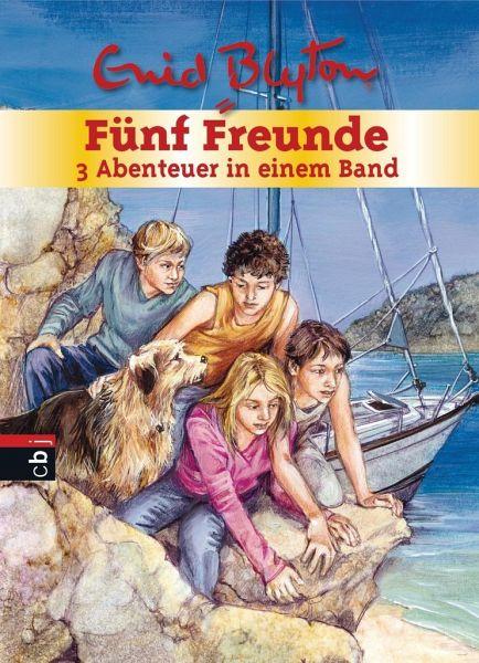 Fünf Freunde retten die Felseninsel & Fünf Freunde und die Wahrsagerin & Fünf Freunde und das Geheimnis am Fluss / Fünf Freunde Sammelbände Bd.22