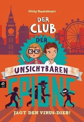 Buch-Reihe Club der unsichtbaren Spione