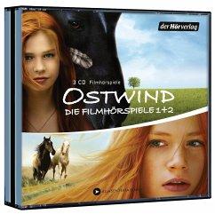 Ostwind - Die Filmhörspiele 1 + 2, 3 Audio-CDs - Henn, Kristina M.; Schmidbauer, Lea