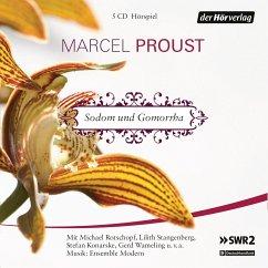 Sodom und Gomorrha, 6 Audio-CDs - Proust, Marcel
