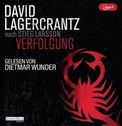 Verfolgung / Millennium Bd.5 (2 MP3-CDs) - Lagercrantz, David
