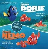 Findet Nemo - Findet Dorie, 4 Audio-CDs