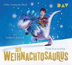 Der Weihnachtosaurus, 4 Audio-CDs - Fletcher, Tom