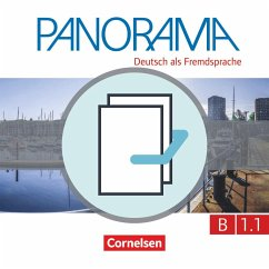 Panorama B1: Teilband 1 - Kursbuch und Übungsbuch DaZ - Böschel, Claudia; Finster, Andrea; Jin, Friederike; Paar-Grünbichler, Verena; Winzer-Kiontke, Britta