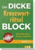 Der dicke Kreuzworträtsel-Block Band 24