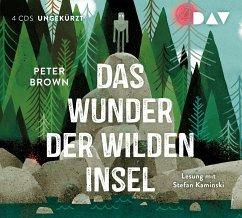 Das Wunder der wilden Insel, 4 Audio-CDs - Brown, Peter