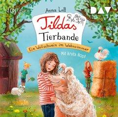 Ein Wollschwein im Wohnzimmer / Tildas Tierbande Bd.1 (2 Audio-CDs) - Lott, Anna