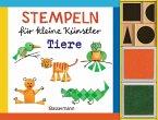 Stempeln für kleine Künstler - Tiere-Set