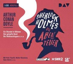 Sherlock Holmes - Die Abenteuer, 6 Audio-CDs