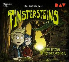 Den Letzten beißt das Krokodil / Die Finstersteins Bd.3 (3 Audio-CDs) - Lüftner, Kai