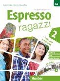 Espresso ragazzi 2. Lehr- und Arbeitsbuch mit DVD und Audio-CD - Schulbuchausgabe