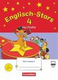 Englisch-Stars 4. Schuljahr - Übungsheft für Profis