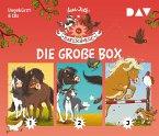 Die Haferhorde - Die große Box, 6 Audio-CDs