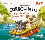 Der Held vom Sommersee / Zorro, der Mops Bd.2 (2 Audio-CDs)