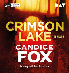 Crimson Lake, 1 MP3-CD - Fox, Candice
