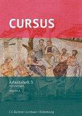 Cursus - Ausgabe A. Arbeitsheft 3 mit Lösungen