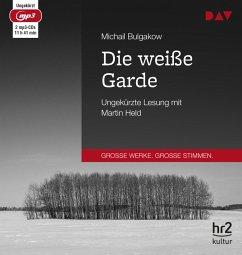 Die weiße Garde, 2 MP3-CD - Bulgakow, Michail