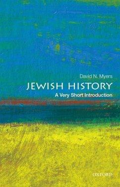 Jewish History: A Very Short Introduction (eBook, ePUB) - Myers, David N.