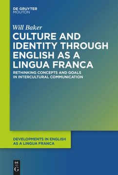 Culture and Identity through English as a Lingua Franca - Baker, Will