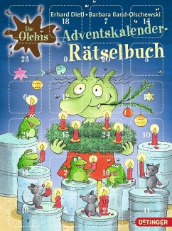 Die Olchis. Adventskalender-Rätselbuch - Iland-Olschewski, Barbara; Dietl, Erhard