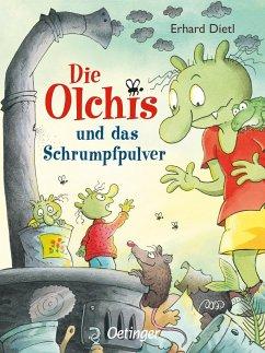 Die Olchis und das Schrumpfpulver / Die Olchis-Kinderroman Bd.11 - Dietl, Erhard