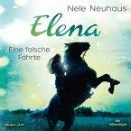 Eine falsche Fährte / Elena - Ein Leben für Pferde Bd.6 (1 Audio-CD)