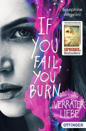Buch-Reihe Everflame von Josephine Angelini