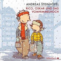 Rico, Oskar und das Vomhimmelhoch / Rico & Oskar Bd.4 (4 Audio-CDs) - Steinhöfel, Andreas