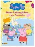 Peppa Pig: Meine Lieblingsbilder zum Ausmalen
