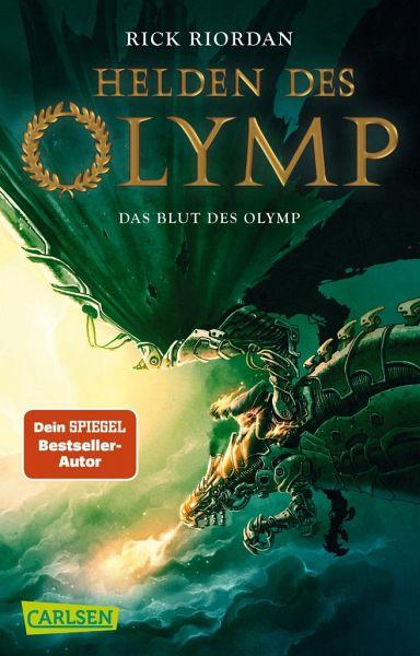 Buch-Reihe Helden des Olymp von Rick Riordan