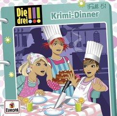 Krimi-Dinner / Die drei Ausrufezeichen Bd.51 - Wich, Henriette; Biber, Ina