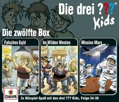 Die drei ??? Kids, 3er Box, 3 Audio-CDs - Pfeiffer, Boris; Blanck, Ulf