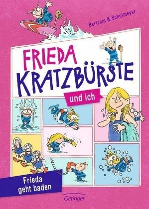 Buch-Reihe Frieda Kratzbürste und ich