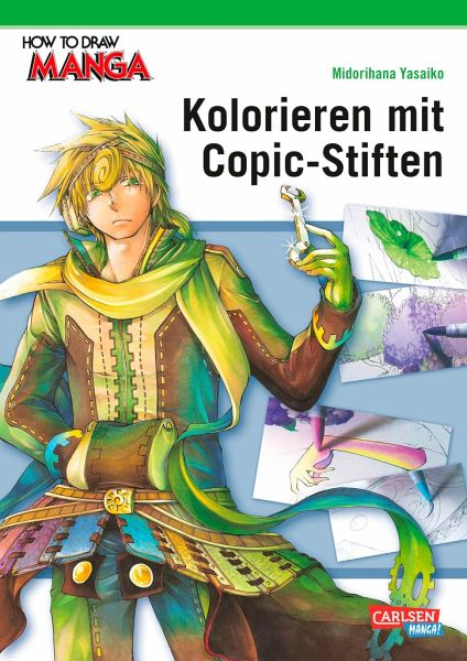 Kolorieren mit Copic-Stiften / How to draw Manga Bd.20 - Yasaiko, Midorihana