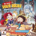 Der kleine Hui Buh - Der blubbernde Brotteig / Alarm in der Geheimzentrale, 1 Audio-CD